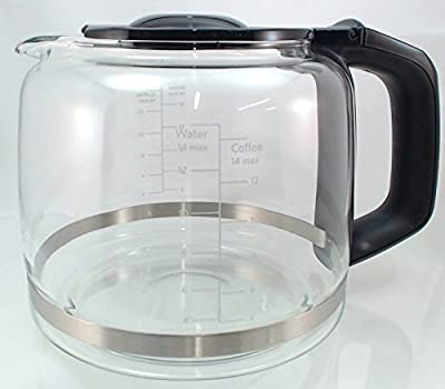 YourStoreFront 14-Cup Replacement Coffee Glass Carafe for KitchenAid Coffee Maker KCM222/223 KCM22GC