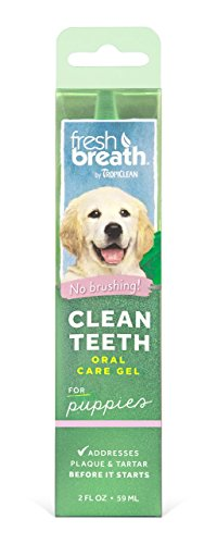 Price comparison product image Fresh Breath Clean Teeth Oral Care Gel, 2 oz for Cats Reduce Plaque and Tartar