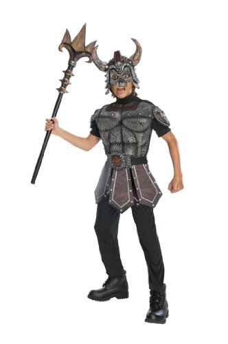 Greek Warrior Costume Child (Nordic Warrior Costume, childs medium)