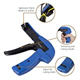 Cable Tie Gun - Fastening and Cutting Tool with
