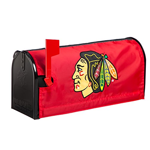 Mailbox Cover Team (Team Sports America Chicago Blackhawks Applique Mailbox Cover)