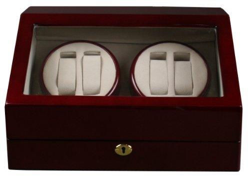 Top Quality Quad Watch Winder 4+6 Storage Box Case (Box Case Winder Watch)