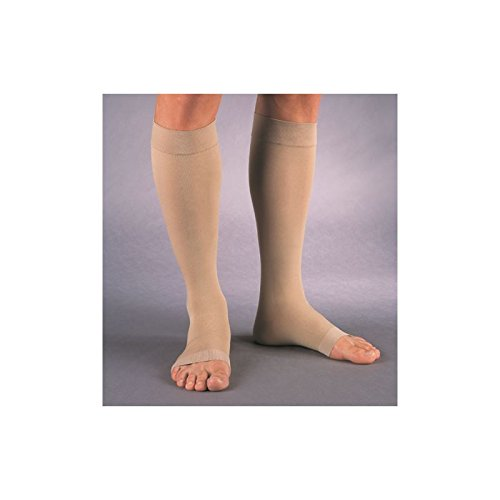 Jobst Relief 30-40 Knee-Hi Open-Toe Large Beige(pair)
