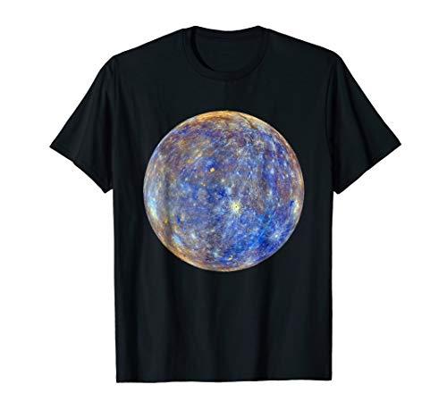 NASA Mercury planet space t-shirt