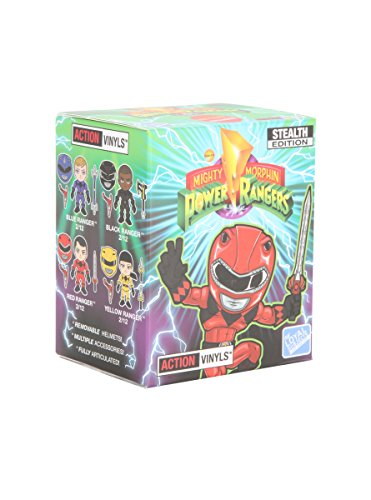 Mighty Morphin Power Rangers X The Loyal Subjects Stealth Edition Blind Box Figure (Mighty Morphin Power Ranger Helmet)