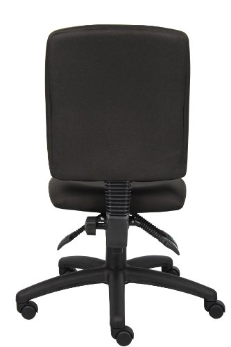 Best Price Boss Office Products B3035 BK Multi Function Fabric Task Chair W