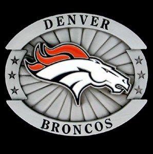 Denver Broncos Oversized NFL Belt Buckle