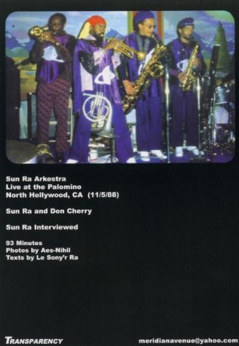 Sun Ra Arkestra - Live At The Palomino, L.A., 1988 (Vol. 1) by MUSIC VIDEO DISTRIBUTORS