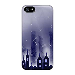 New Arrival Iphone 5/5s Case Mysterious City Case Cover