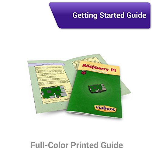 Viaboot Raspberry Pi 3 Complete Kit — Official Micro SD Card, Premium Black Case Edition by Viaboot (Image #7)