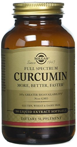 Solgar - Full Spectrum Curcumin Liquid Extract, 90 Softgels