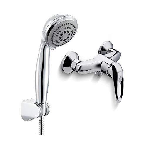 JINSH HOME Showers Shower Mixing Valve Shower Simple Shower Mixing Valve Faucet Simple Handheld Nozzle