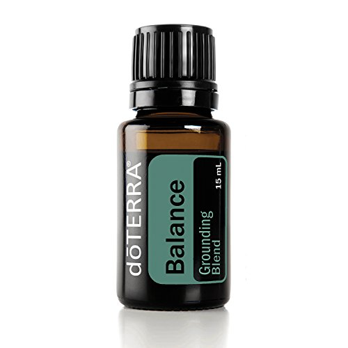 doTERRA - Balance Essential Oil Grounding Blend - Promotes Relaxation, Tranquility and Balance, May Help Ease Anxious Feelings; For Diffusion or Topical Use - 15 mL