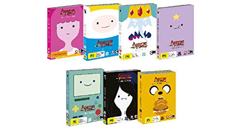 Adventure Time The Complete Series Seasons 1-7 DVD