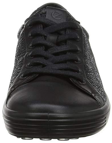 51052 Black para Mujer Lace Zapatillas 7 Womens Soft Schwarz ECCO Black XYv8n