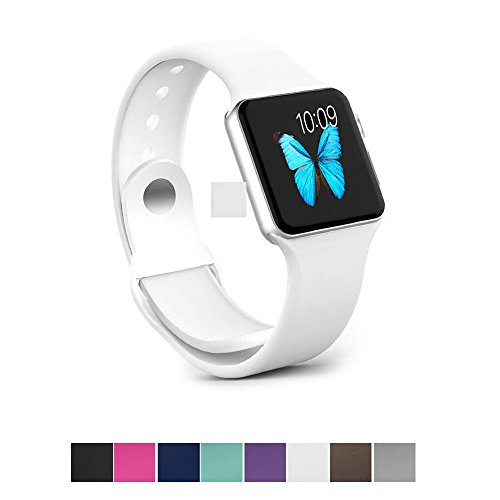 Apple Watch Band - e6Hope Soft Silicone Replacement iWatch Strap for Apple Watch Series 1,Series 2