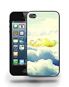 Hipster Vintage Colourful Moustache Phone Case Cover Designs for iPhone 4 wangjiang maoyi
