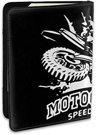 MOTOCROSS SPEED RACE ロッキー・バルボア パスポートケース メンズ 男女兼用 パスポートカバー パスポート用カバー パスポートバッグ ポーチ 6.5インチ高級PUレザー 三つのカードケース 家族 国内海外旅行用品 多機能