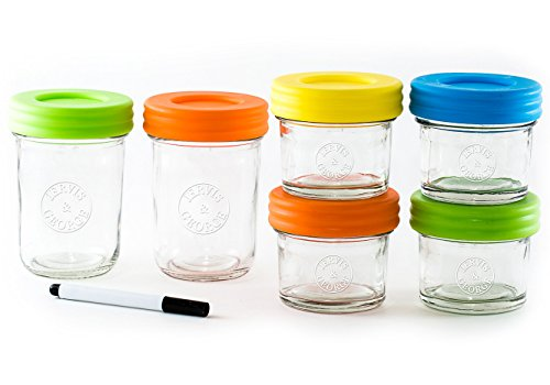 Glass Baby Food Storage Containers product image