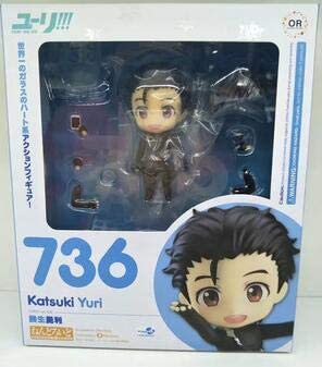 YURI on ICE Nendoroid 736 Katsuki Anime PVC Action Figure Toys Collection Gifts