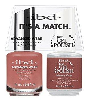 ibd Advanced Wear Color Duo Mauve Over #503 UV Gel -