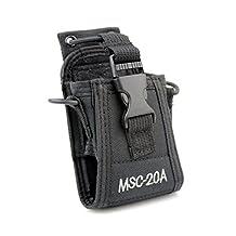 Generic Multi-Function Fabric Case Holder Compatible For Kenwood Yaesu Icom Motorola Radio On Duty
