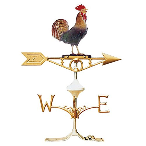 - Coburn RM510 Painted Rooster Weathervane