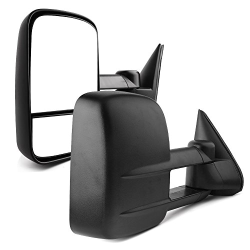 YITAMOTOR Towing Mirrors Compatible for Chevy GMC1999-2007 Chevy Silverado Sierra 1500 2500 3500, 2000-2006 Chevy Tahoe Suburban 1500 2500 / GMC Yukon XL Truck
