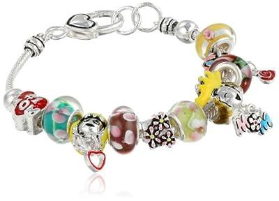 """Mother's Day Charm Bracelet, 8"""""""