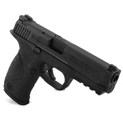 TALON Grips for Smith & Wesson M&P Full Size with Medium Backstrap Rubber, Black Rubber