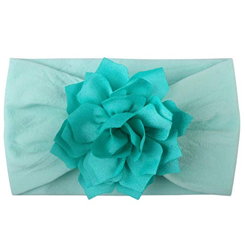 Hair Accessories for Photograph,Baby Girls Toddler Turban Solid Color Headband Hair Band Flower Accessories Headwear