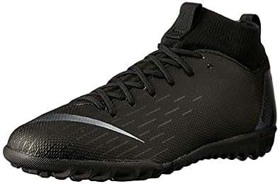 Nike Australia Boys Jr Superfly 6 Academy GS TF Fashion Shoes, Black/Black, 2.5 US