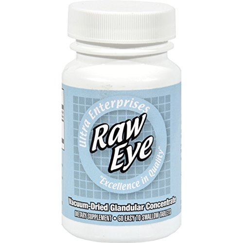 Ultra Raw Eye (Ultra Glandulars Raw Eye - 60 Tablets)