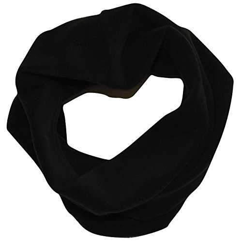 TrailHeads Contour Microfleece Neck Warmer / Gaiter - black
