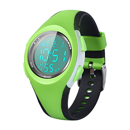 - Kid Watch Sport LED Alarm Stopwatch Digital Child Quartz Wristwatch for Boy Girl