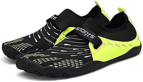 HYH ビーチシューズ男性と女性の屋外クライミングウェーディングシューズ 上流の靴夏の男性の速乾性のある靴メッシュメッシュ4つの面の弾性耐摩耗性滑り止め軽量スポーツシューズブラックイエローUS 5.5 - US 11 いい人生 (色 : Yellow, Size : US10.5)