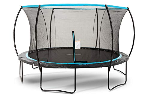 SkyBound Cirrus 14 Foot Trampoline with Safety Enclosure Net...