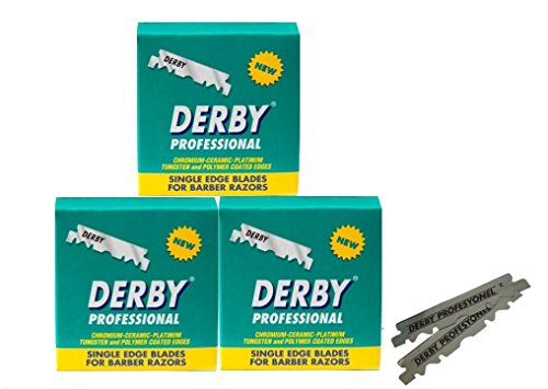 Blades Single Edge Derby Extra Super Stainless Razor Blades #Barber Razors (300 Blades)