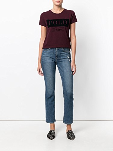 T Ralph shirt 211670451 L Lauren Donna Bordeaux gUgAnBrx