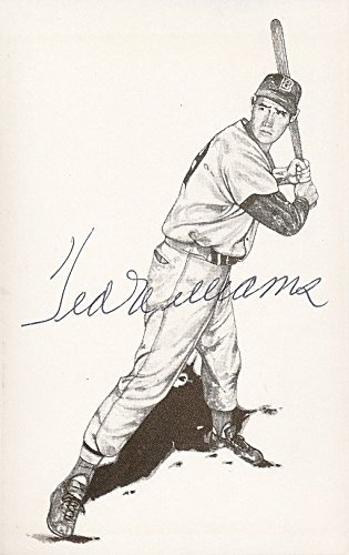 Ted Williams Signed Postcard Autograph - PSA/DNA Certified