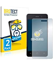 2X BROTECT HD-Clear Screen Protector for Omnipod Dash, Crystal-Clear, Hard-Coated, Dirt-Repellent