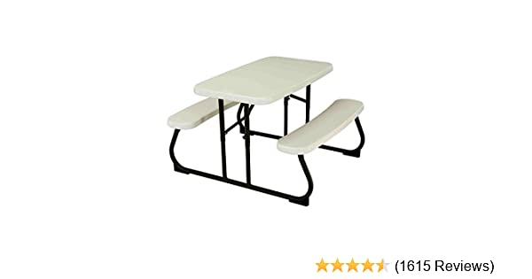 Amazon Com Lifetime 280094 Kid S Picnic Table Lifetime Children