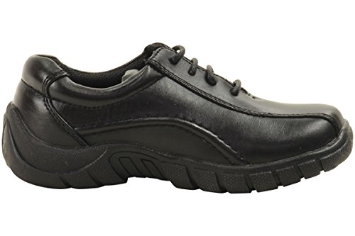 Enkla Strider Pojkar Triathelete Mode Sneakers Skoluniform Skor Svarta