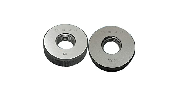 3//4-10 UNC 2A Thread Ring Gage GO NOGO 100/% Calibrated ship by Fedex Delivery in 4 days