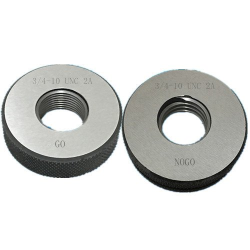3/4-10 UNC 2A Thread Ring Gage GO NOGO 100% Calibrated ship by Fedex Delivery in 4 days ()