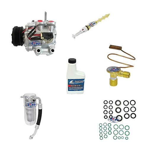 - A/C Compressor Kit Fits Chevrolet Trailblazer GMC Envoy Oldsmobile Bravada 2002 L6 4.2L (Only With Rear A/C) 77561