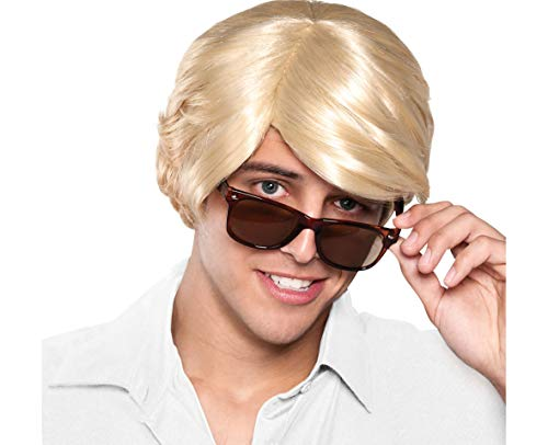 Amscan Chick Magnet Wig Halloween Costume Accessories, Blonde, One Size ()