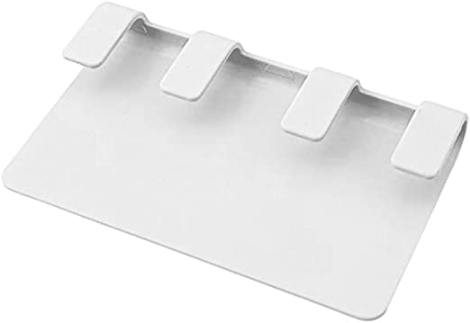 Wall Clear Acrylic Plexi-glass Square Shelf Organizer Holder Stand Bracket Mount