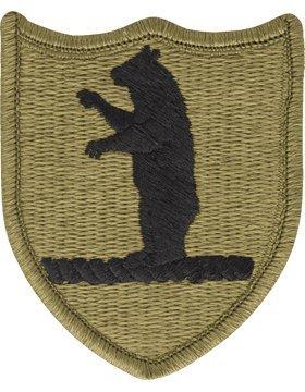 Missouri National Guard Headquarters Scorpion OCP Patch with Fastener - Missouri National Guard