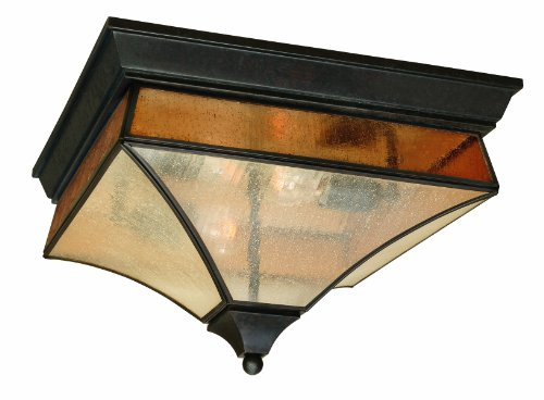 World Imports 9025-06 Cairns Collection 2-Light Flushmount, Flemish